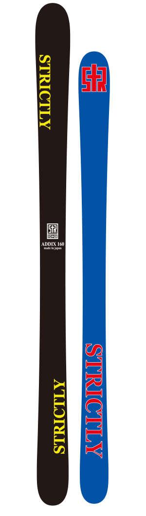STRICTLY SKI ADDIXストリクトリー スキー アディックス2018/2019 18-19153,160,170国内送料無料!FREESKI国内正規品保証書付