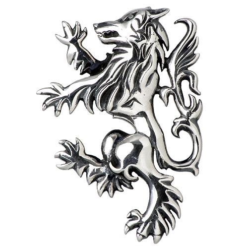 【ウルフマンB.R.S】WOLFMAN B.R.S ペンダントトップ レディース メンズ シルバー ジュエリー ウルフ 925 スターリングシルバー WO-P-056