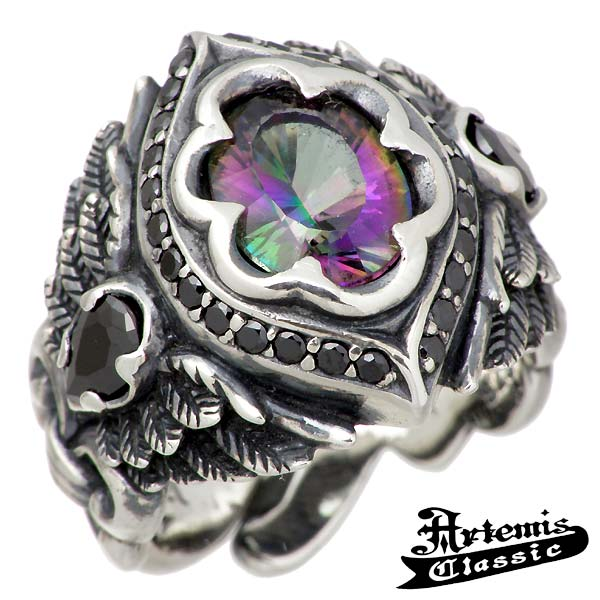 Artemis Classic【アルテミスクラシック】 リング 指輪 メンズ ミカエル シルバー キュービック 15~21号 シルバーアクセサリー シルバー925 ACR0228