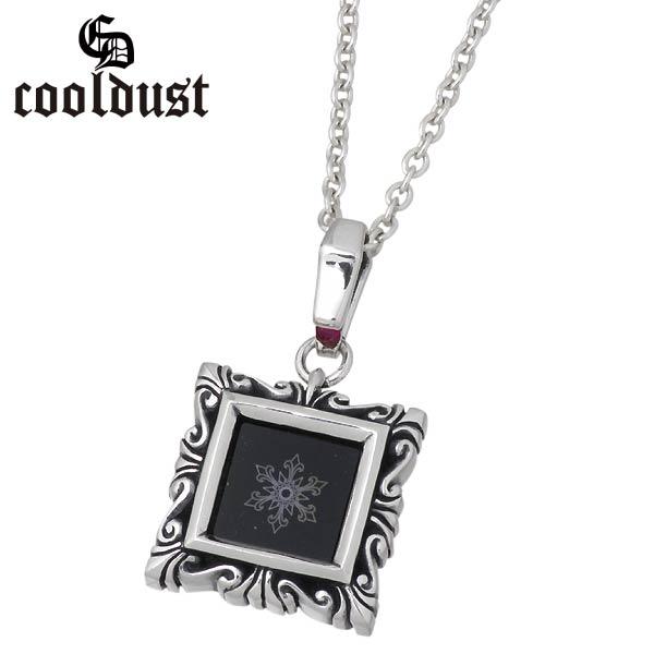 cooldust FUNKOUTS【クールダスト】ネックレス レディース メンズ シルバー スノーフレーク 雪の結晶 オニキス カラーストーン 925 スターリングシルバー FCN-027CL60