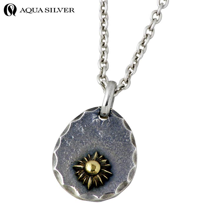 Sies rosso rakuten global market the aqua silver sun and moon the aqua silver sun and moon silver necklace men reversible brass mozeypictures Choice Image