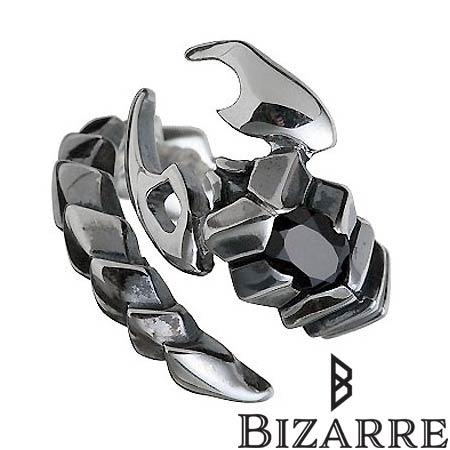 ビザール Bizarre リング 指輪 レディース スコーピオン メンズ シルバー ジュエリー 925 スターリングシルバー SRJ021