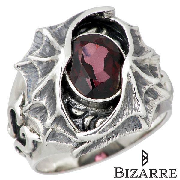 【ビザール】Bizarre リング 指輪 メンズ シルバー ジュエリー デビル 2nd ミスティックトパーズ 12~22号 925 スターリングシルバー SRJ101