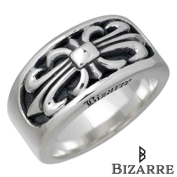 【ビザール】Bizarre リング 指輪 レディース メンズ シルバー ジュエリー フェロークロス10~24号 925 スターリングシルバー SRP088