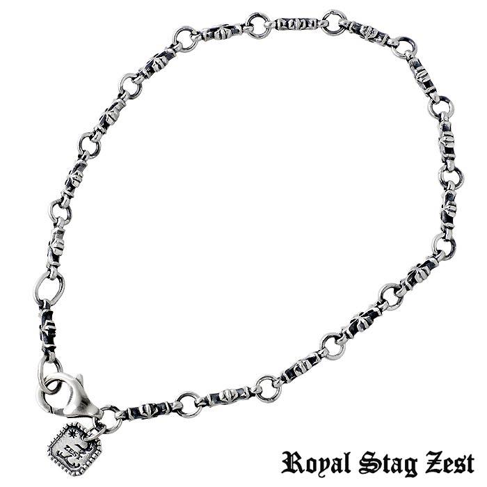 Royal Stag メンズ ブレスレット Zest【ロイヤルスタッグゼスト】シルバー ブレスレット Stag クロス メンズ SBR25-015, Yamato Market Creation:4bfcd12c --- infinnate.ro