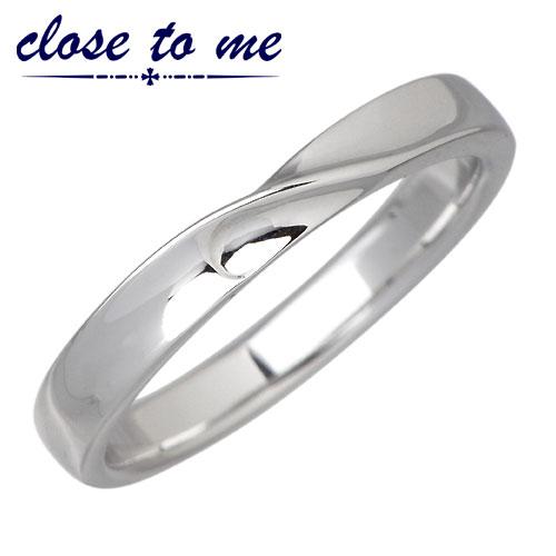 【クロストゥーミー】close to me リング 指輪 メンズ ダイヤモンド シルバー ジュエリー ブルーダイヤモンド【楽ギフ_名入れ】 925 スターリングシルバー 刻印可能 SR14-012M