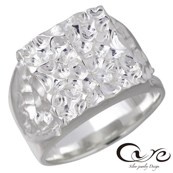 【キュア】cure シルバー ジュエリー リング 指輪 カットエッジ S 指輪 メンズ 7~23号 CU-RI-055