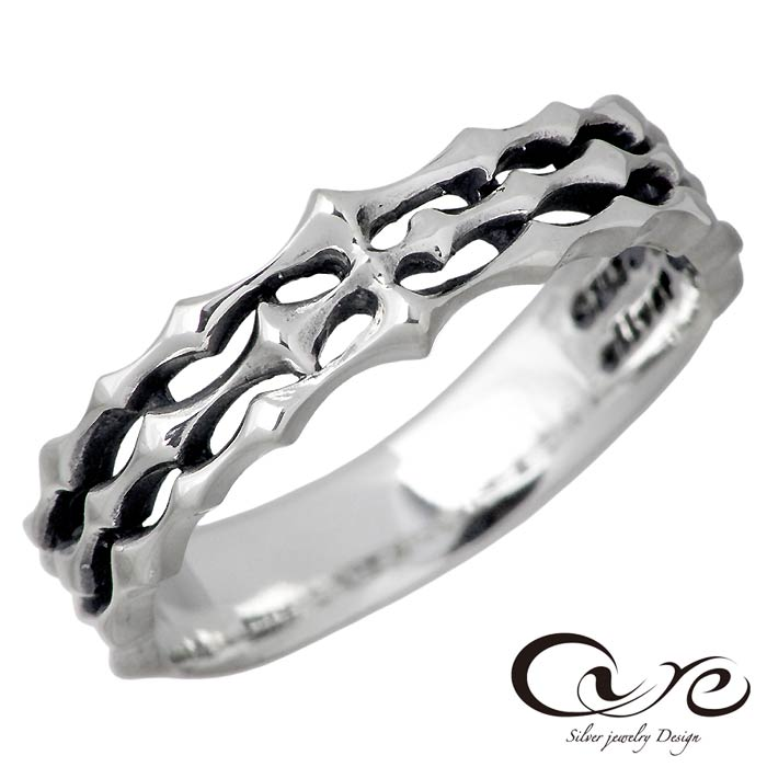 【キュア】cure シルバー ジュエリー リング 指輪 メンズ 7~23号 CU-RI-060