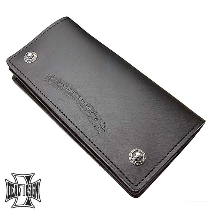 ディールデザイン DEAL DESIGN ウォレット 長財布 メンズ レザーフラッグ 925 スターリングシルバー 390719