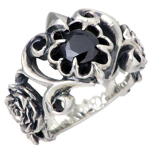 ディールデザイン DEAL DESIGN リング 指輪 レディース ティアラ メンズ シルバー ジュエリー ローズ925 スターリングシルバー 391203