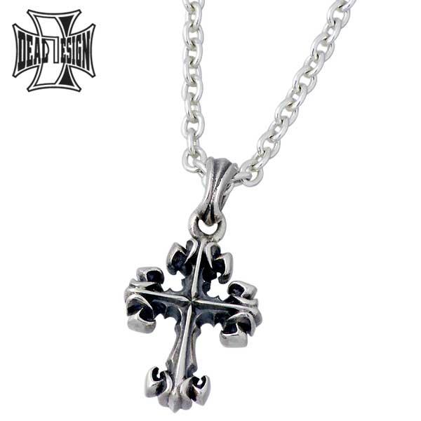 ディールデザイン DEAL DESIGN シルバー ジュエリー ネックレス タイニーリリークロス 十字架 シルバーアクセサリー シルバー925 392158SV-CL60