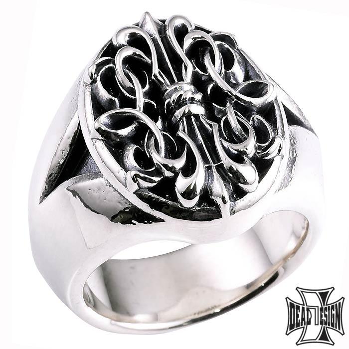 ディールデザイン DEAL DESIGN 高い素材 シルバー リング 指輪 ゲートネイル ストーン 394238 9~23号 オーバル 購買 メンズ シグネット 5~23号 送料無料 ワイド