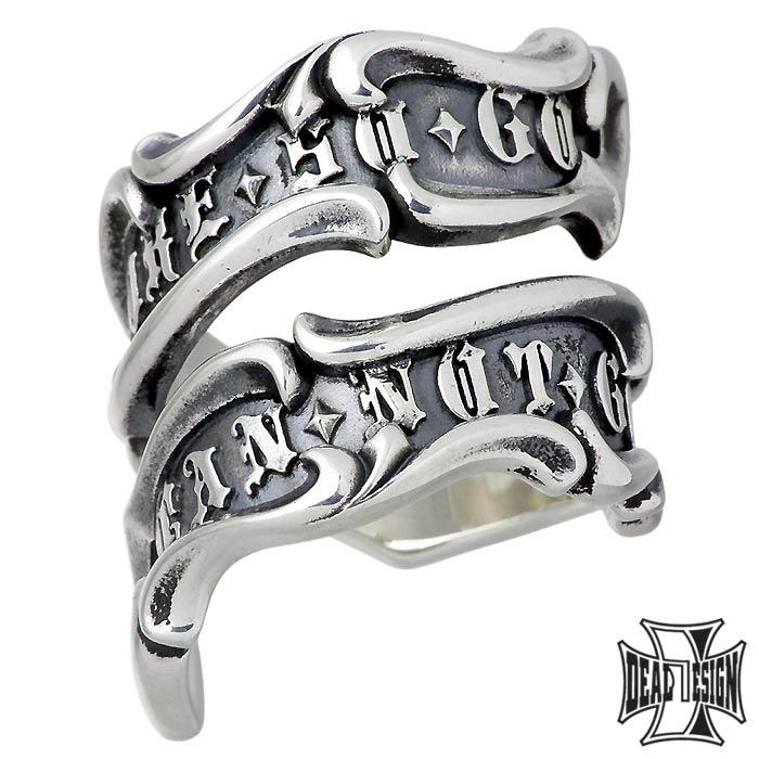 【ディールデザイン】DEAL DESIGN レイジング フラッグ シルバー ジュエリー リング 指輪 メンズ 7~23号 393211