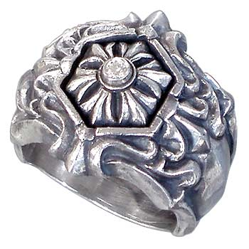 ディッキー&グランドマスター DICKY & GRANDMASTER リング 指輪 レディース アラベスク メンズ シルバー ジュエリー ダイヤモンド925 スターリングシルバー DGRA01D