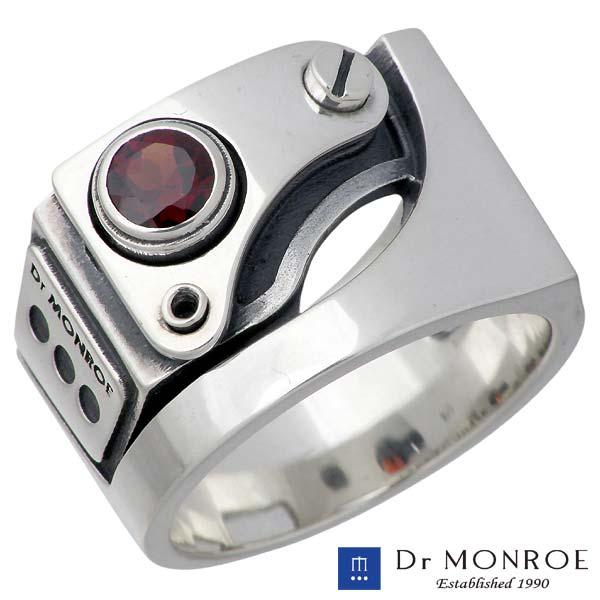【ドクターモンロー】Dr MONROE リング 指輪 メンズ シルバー ジュエリー ストーン 13~23号 925 スターリングシルバー FC-104SE-SV