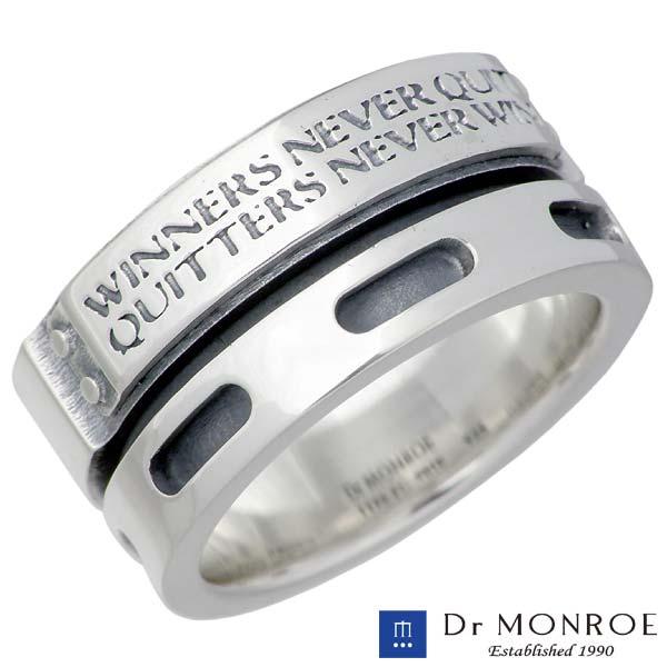 【ドクターモンロー】Dr MONROE リング 指輪 メンズ シルバー ジュエリー メッセージ 13~23号 925 スターリングシルバー FC-98TE-SV