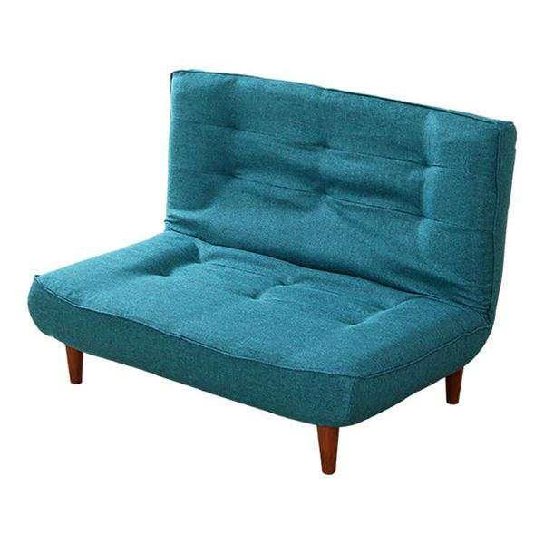 ハイバックソファー リクライニング ソファー 2人掛け タスクブルー 座面 ポケットコイル 入り 日本製 リビング 家具 新生活 引越し 家具 メーカーより直送します ds-2198201