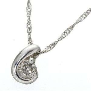 K18 シンプル ダイヤモンド ゴールド ペンダント ネックレス