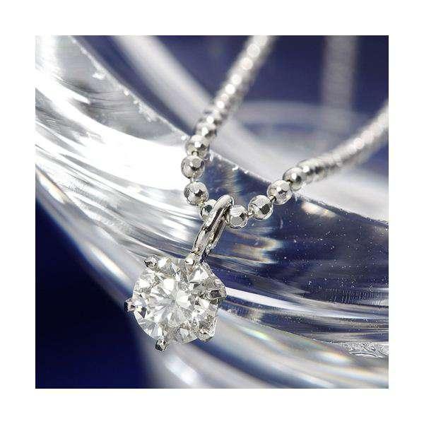 PT 0.15ct ダイヤモンド プラチナ プチ ネックレス Pt900
