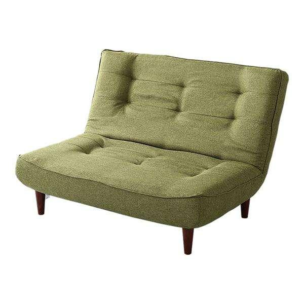 ハイバックソファー リクライニング ソファー 2人掛け グリーン 座面 ポケットコイル 入り 日本製 リビング 家具 新生活 引越し 家具 メーカーより直送します ds-2198199