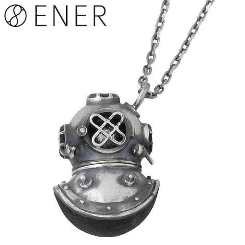エネル ENER ネックレス レディース ギベオン隕石 メンズ シルバー ジュエリー サブマリン SUBMARINE 925 スターリングシルバー ENER-KF-09