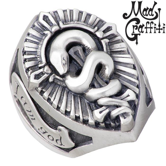 【マッドグラフィティ】Mad Graffiti シルバー ジュエリー リング 指輪 ホーティネス L 13号~30号 MG-R-0001