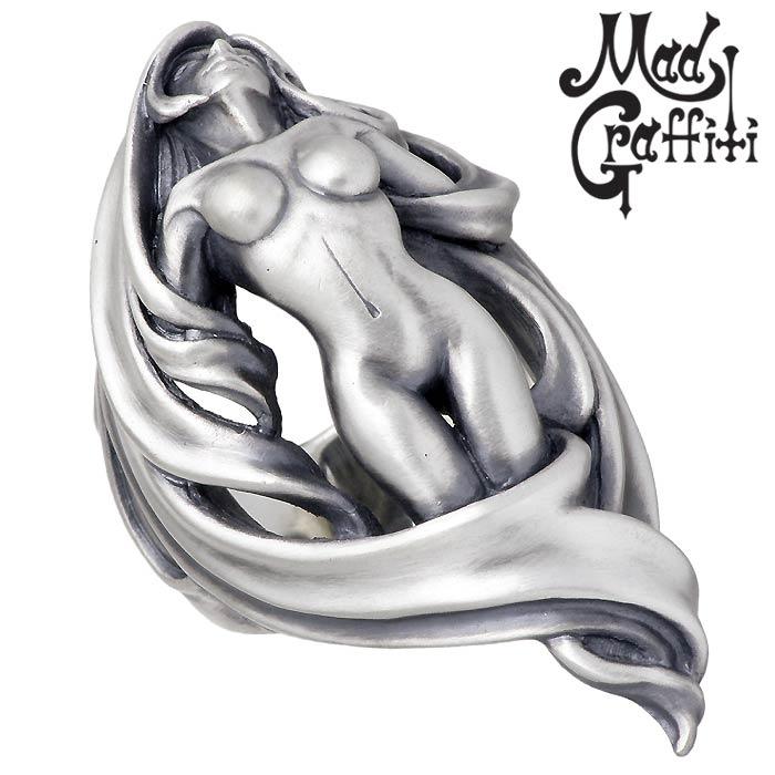 Mad Graffiti【マッドグラフィティ】シルバー リング 指輪 プリヴィリッジ L 13号~30号 MG-R-0022