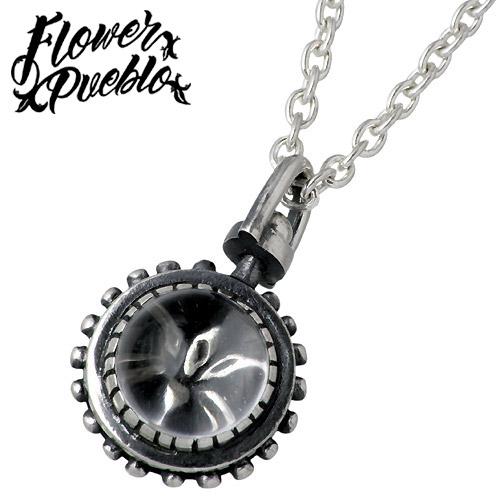 【フラワープエブロ】Flower Pueblo ネックレス レディース シルバー ジュエリー 水晶の世界 925 スターリングシルバーfp-16CL60