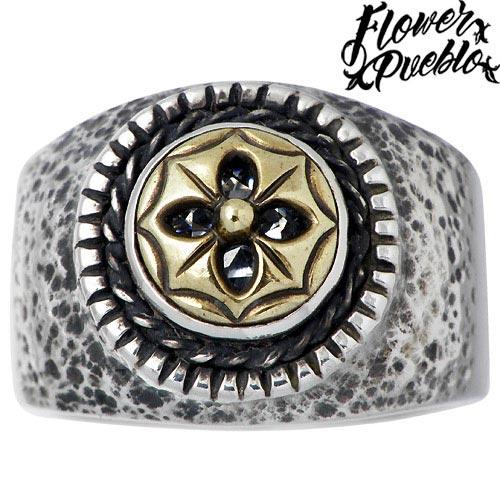 フラワープエブロ Flower Pueblo リング 指輪 レディース シルバー ジュエリー カトマンドゥ 925 スターリングシルバーfp 51MUzGqSpV