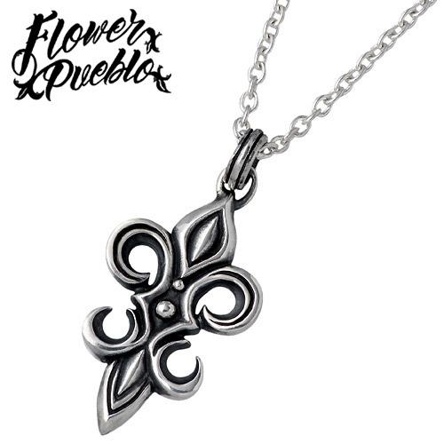 【フラワープエブロ】Flower Pueblo ネックレス レディース シルバー ジュエリー Pueblo Lily 925 スターリングシルバーfp-91CL60
