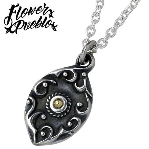 フラワープエブロ Flower Pueblo ネックレス レディース シルバー ジュエリー Piece of Sun C付 925 スターリングシルバーfp-97CL60