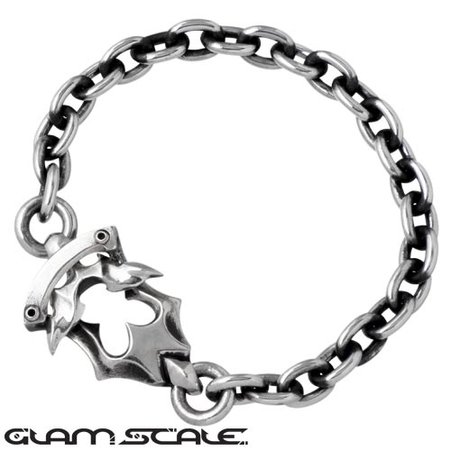 【グラムスケイル】GLAM SCALE ブレスレット メンズ シルバー ジュエリー 925 スターリングシルバー GS-LB-007