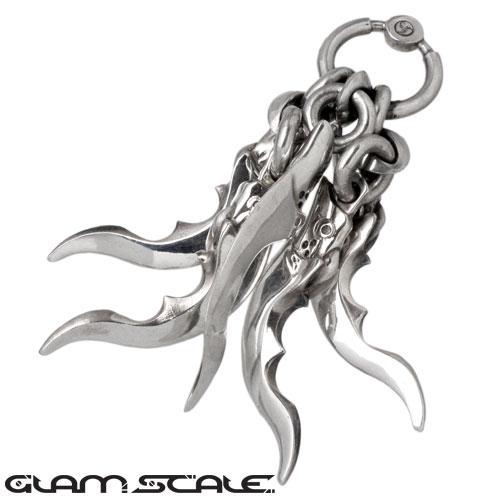 GLAM SCALE【グラムスケイル】ネックレス レディース メンズ シルバー ペンダントトップ 925 スターリングシルバー GS-LNT-002
