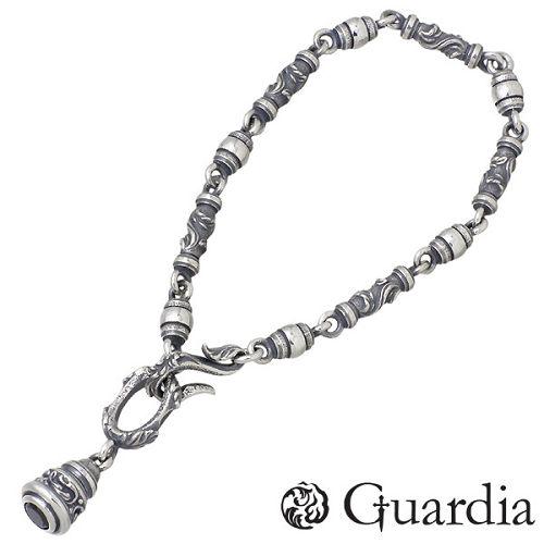 【ガルディア】Guardia ブレスレット メンズ シルバー ジュエリー ブラックキュービック Sサイズ 925 スターリングシルバー ATBL-002BKZ-S