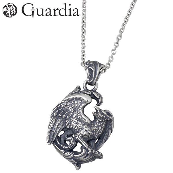 【ガルディア】Guardia ネックレス メンズ Griffi グリフィン シルバー ジュエリー ATPN-030CL60