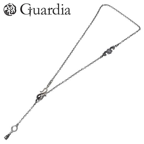 【ガルディア】Guardia ネックレスチェーン メンズ Rhodes Chain シルバー ジュエリー 925 スターリングシルバー DCH-001-AZ0028