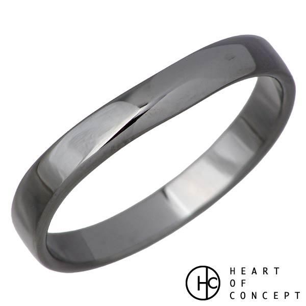 【ハートオブコンセプト】HEART OF CONCEPT リング 指輪 レディース デザインライン シルバー ジュエリー メンズ ブラック 9~23号 シルバーアクセサリー シルバー925 HCR-271M