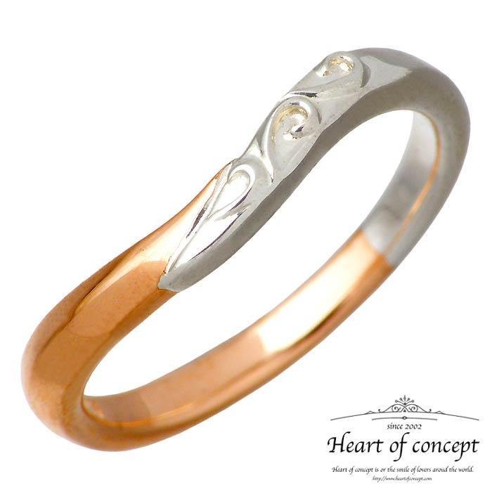 【ハートオブコンセプト】HEART OF CONCEPT チェリッシュ シルバー ジュエリー リング 指輪 レディース 5~15号 ピンク HCR-282L