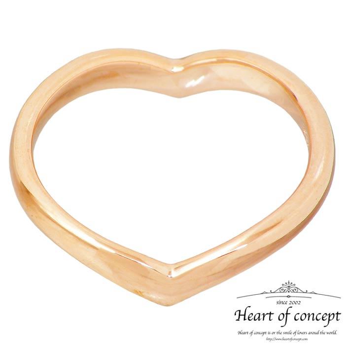 【ハートオブコンセプト】HEART OF CONCEPT シルバー ジュエリー リング 指輪 エターナルラブ レディース ハート 6~16号 ピンク HCR-284LPK