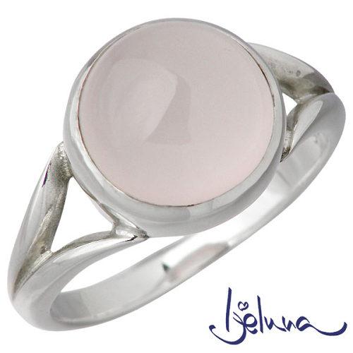 アイジェルナ Ijeluna リング 指輪 レディース ローズクォーツ シルバー ジュエリー 10mm 925 スターリングシルバー IJ-028RS-ROSE