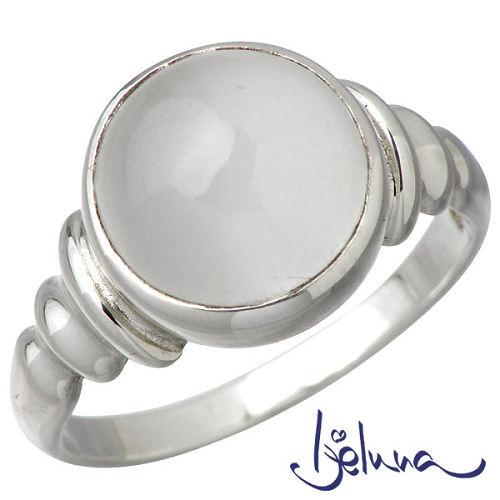 【アイジェルナ】Ijeluna リング 指輪 レディース ムーンストーン シルバー ジュエリー 10mm 925 スターリングシルバー IJ-044RS-MS