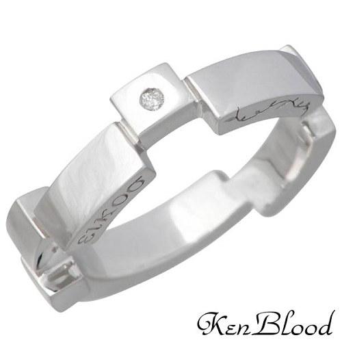【ケンブラッド】KEN BLOOD リング 指輪 レディース ダイヤモンド シルバー ジュエリー レシプロカルラブ 925 スターリングシルバー KR-232SV