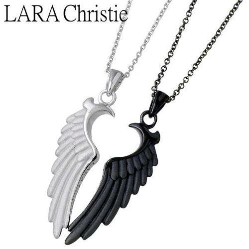 LARA Christie【ララクリスティー】 ネックレス ペアー シルバー ヴィクトリア 925 スターリングシルバー LA-P5058-P