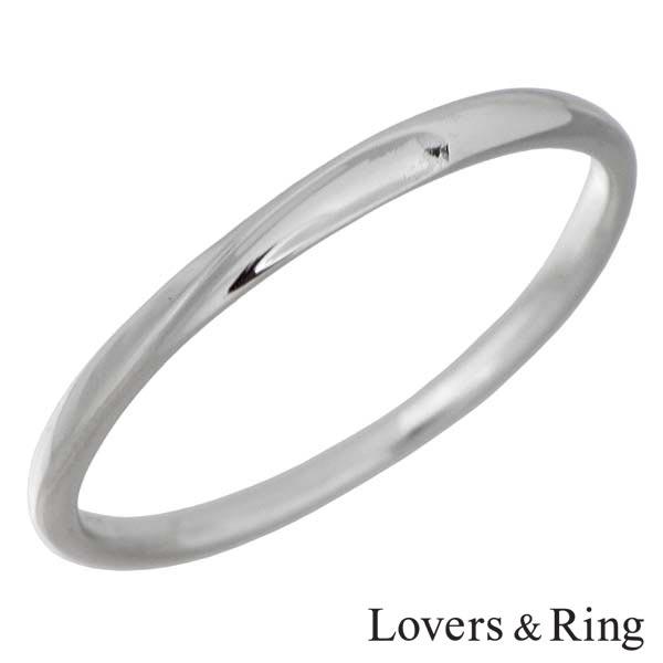 【ラバーズリング】Lovers & Ring リング 指輪 レディース K10 ホワイトゴールド 5~23号 刻印可能 LSR-0609WG