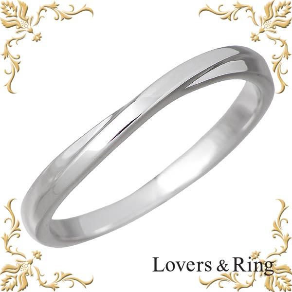 ラバーズリング Lovers & Ring リング 指輪 メンズ K10 ホワイトゴールド 11~23号 LSR-0663WG