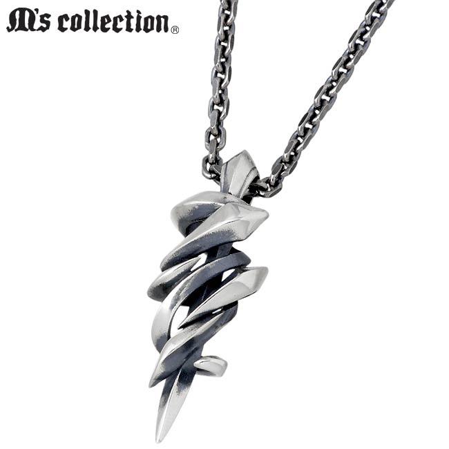 M's collection【エムズコレクション】 ネックレス メンズ レディース シルバー XP-096