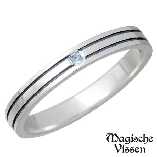 【マジェスフィッセン】Magische Vissen リング 指輪 レディース シルバー ジュエリー ストーン925 スターリングシルバー OZR-028