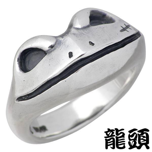 【メール便不可】 【龍頭】RYUZU 反抗期蛙 リング 指輪 レディース メンズ シルバー 950 反抗期蛙 カエル10~28号 シルバー 950 ブリタニアシルバー RYUZU-R-122, 岡田屋:ba8abe93 --- jagorawi.com