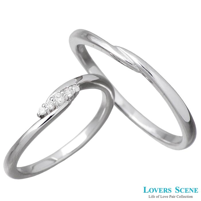 LOVERS SCENE【ラバーズシーン ペア】シルバー ペア LOVERS リング 指輪 11~21号 ダイヤモンド 7~15号 11~21号 LSR-0125-P, 五代目 池庄:a2f19530 --- m2cweb.com