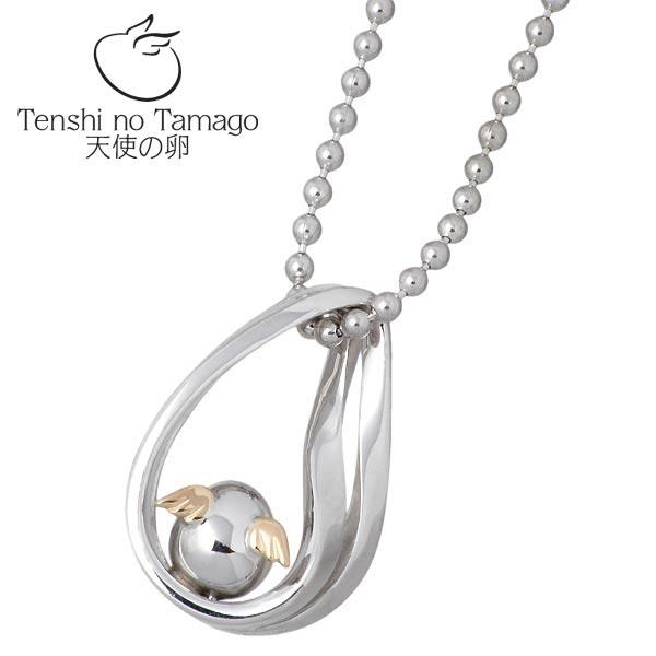 天使の卵 Tenshi no Tamago ネックレス レディース シルバー ジュエリー ロジウム加工 メビウス 950 ブリタニアシルバー tenshi-1111RM